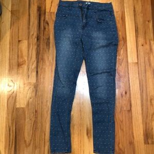 BDG worn once polka dot jeans